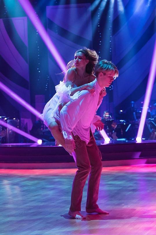 Došlo i na scénický tanec, za který byli skvěle hodnocení...