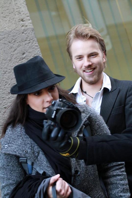 Marta s přítelem Jakubem Dřímalem.