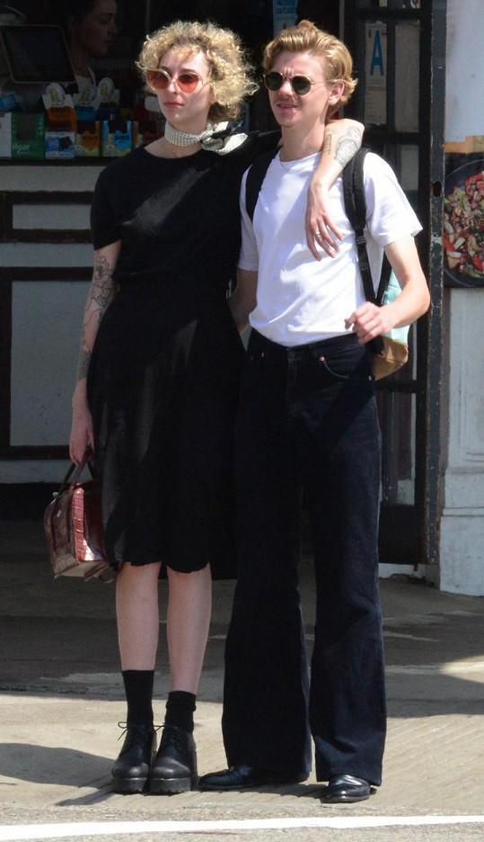 Procházeli se v ulicích LA.