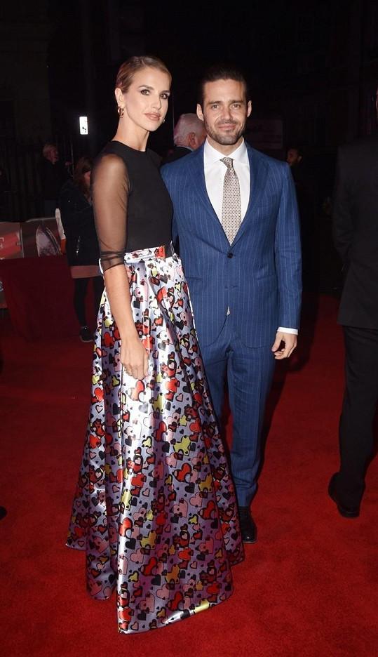 Spencer Matthews s manželkou Vogue Williams, kvůli níž sekl s alkoholem.