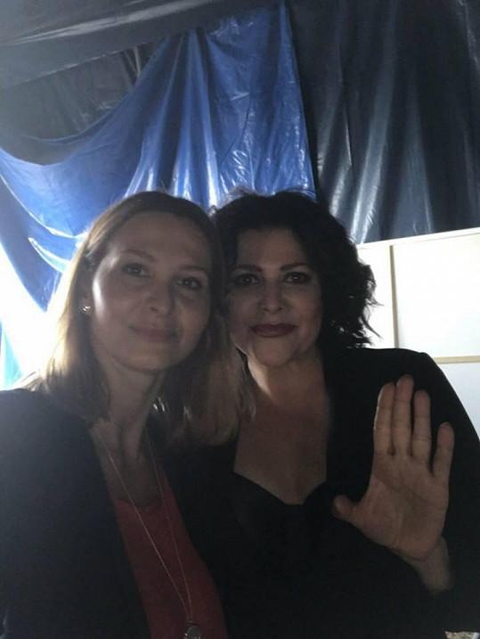 Ivana Gottová a Ilona Csáková na aktuální fotce ze soboty