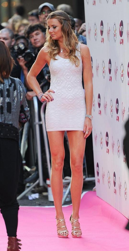 Daniela Hantuchová má dokonalé nohy.