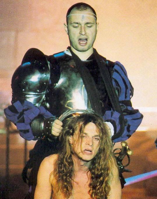Steven Tomáš Trapl a Dracula Daniel Landa v původním obsazení
