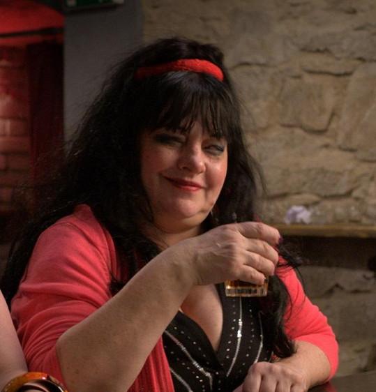 Dana Bartůňková se letos objevila ve Vánočním Kameňáku.