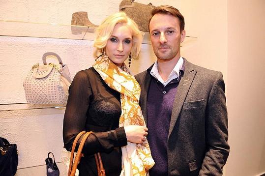 Barbora Vida Kolářová s manželem Přemkem.