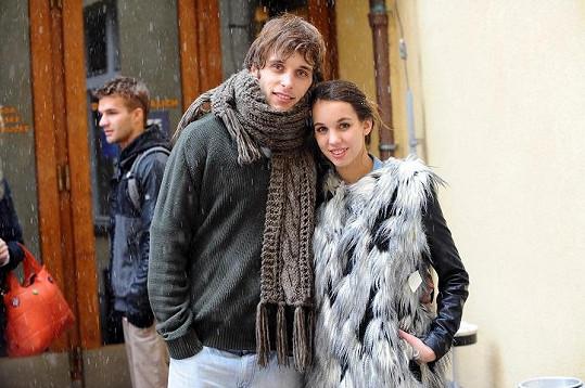 Míša s přítelem Romanem Tomešem úspěšně prošli konkurzem na muzikál Mauglí.