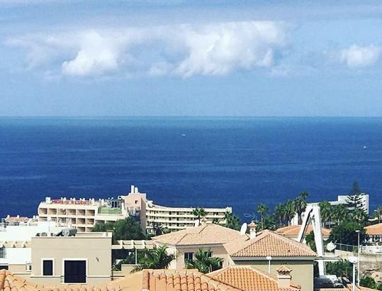 Výhled z apartmánu na oceán