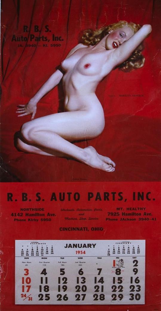 Snímky publikované v Playboyi byly původně focené pro kalendář.