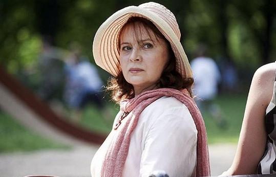Libuše Šafránková ve filmu Jiřího Menzela Donšajni (2013)