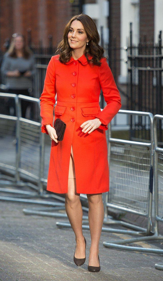 Kate navštívila nemocnici v Londýně.