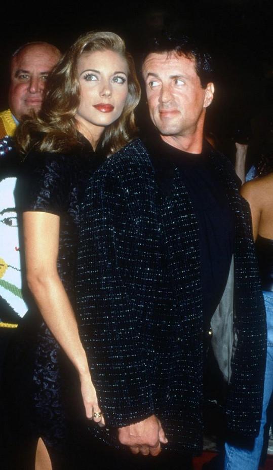 Herec a bývalá modelka oslavili 23. výročí svatby.