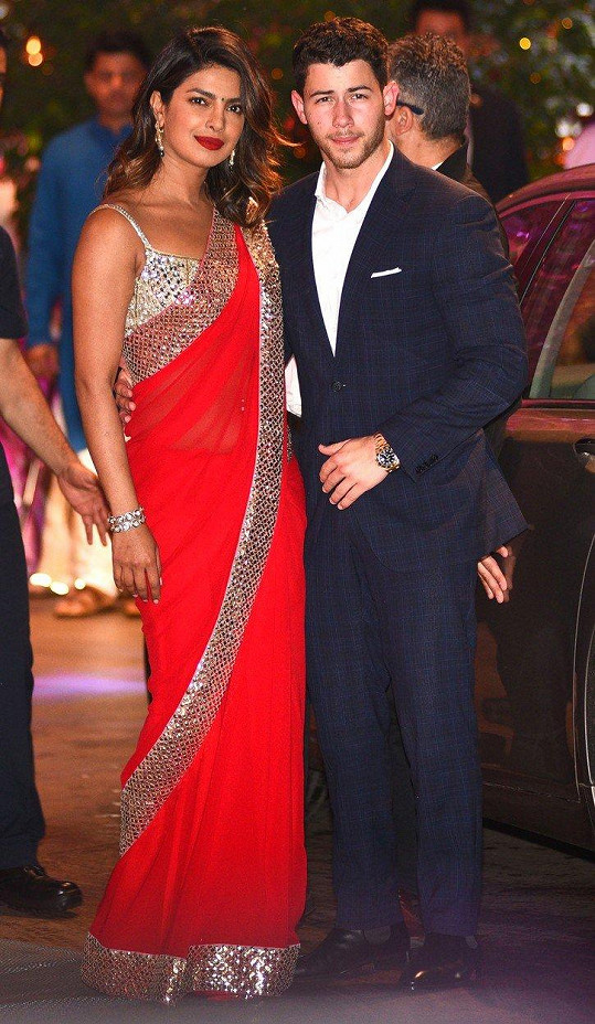 Priyanka Chopra (36) a její mladíček Nick Jonas (25) chystají svatbu.