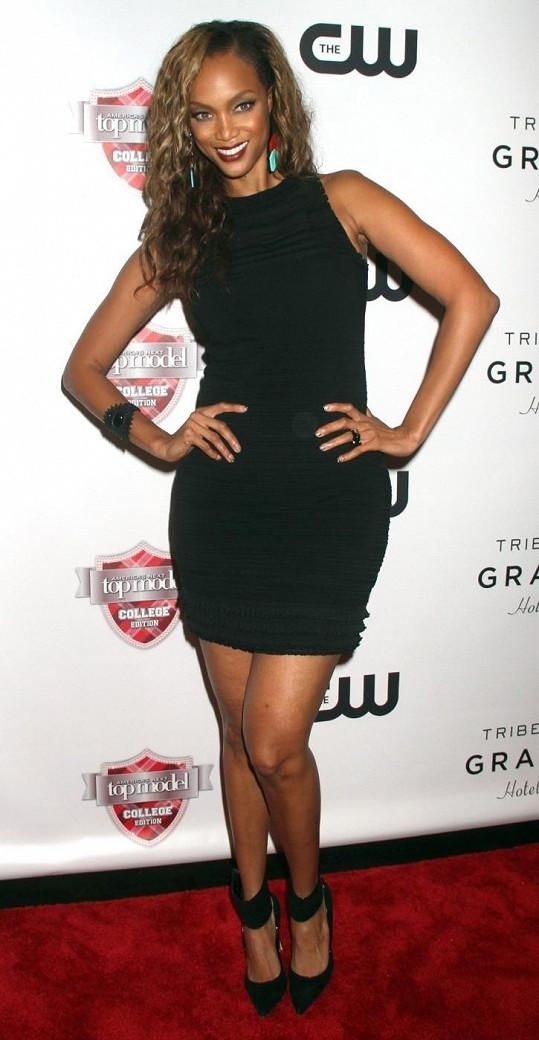 Tyra Banks vypadá fantasticky.