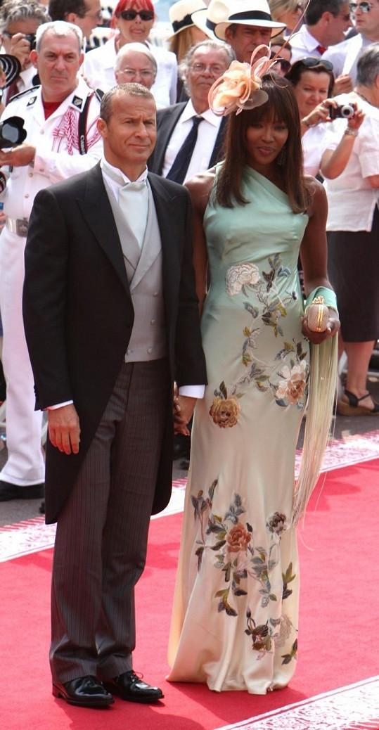 Naomi Campbell a Vladislav Doronin