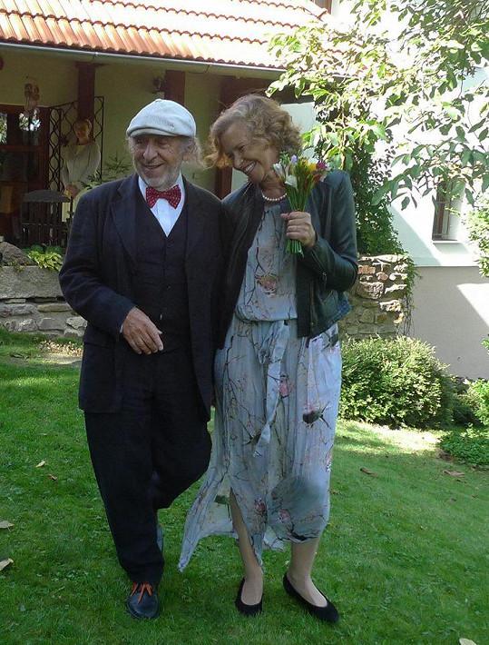 Jiří Stivín se potřetí oženil.