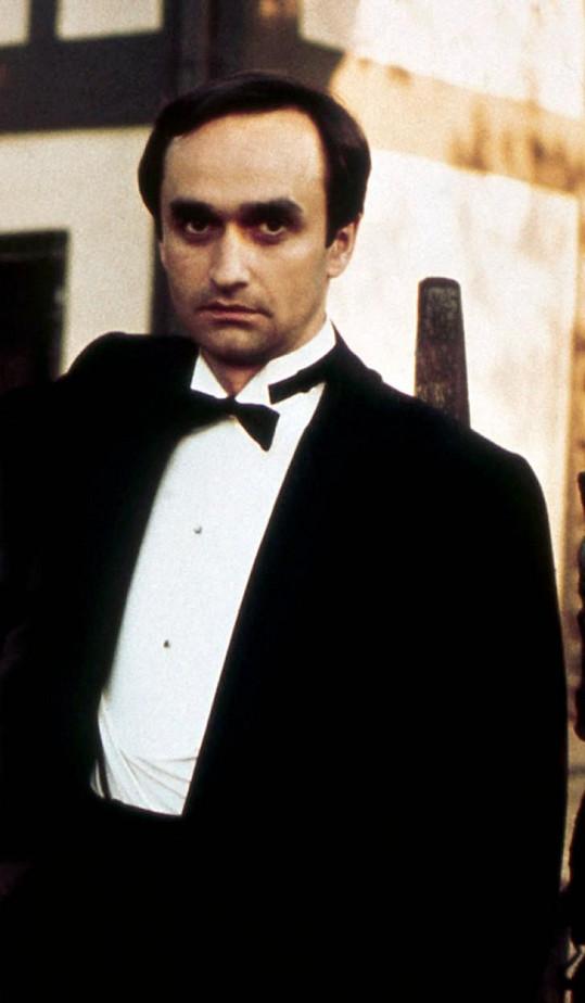 John Cazale, na snímku ve filmu Kmotr, byl hereččinou velkou láskou.