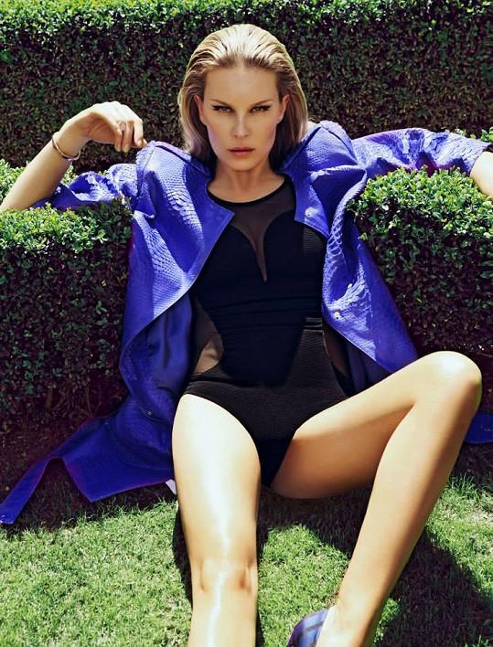 Modelka byla nadšená z focení s Lukášem Kimličkou, které trvalo pouze rekordní dvě hodiny.