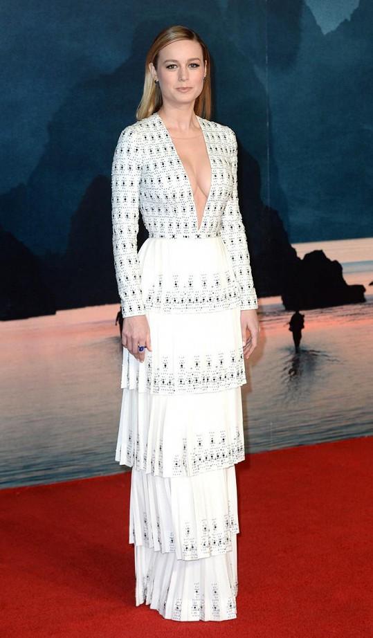 Brie na premiéře filmu Kong: Ostrov lebek