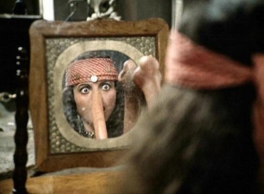 Bosana měla s nosem velké trápení.