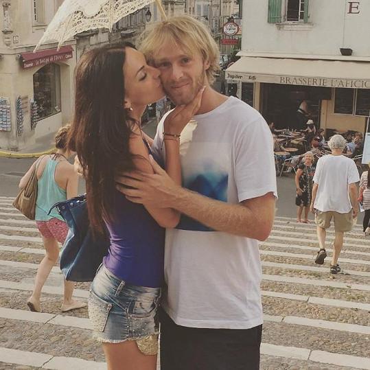 S mužem jejího života Jakubem Vágnerem