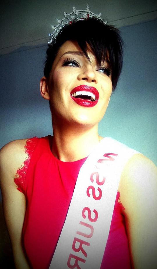 Dokáže zaujmout i v celostátním klání na Miss Anglie?