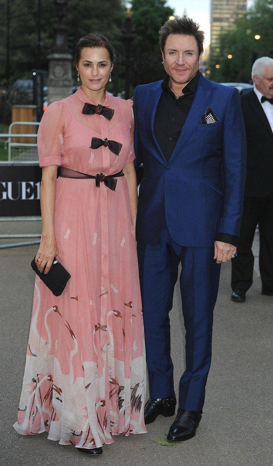 Le Bon s manželem Simonem