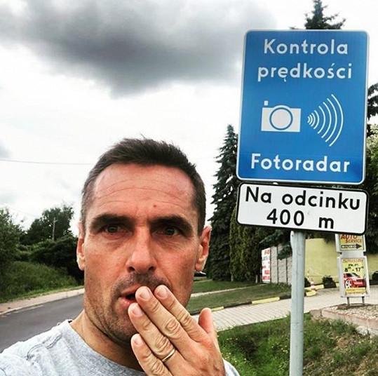 Roman Šebrle byl šokován značkou v Polsku.