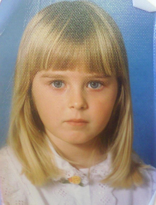 Zorka Kepková byla sladká holčička.