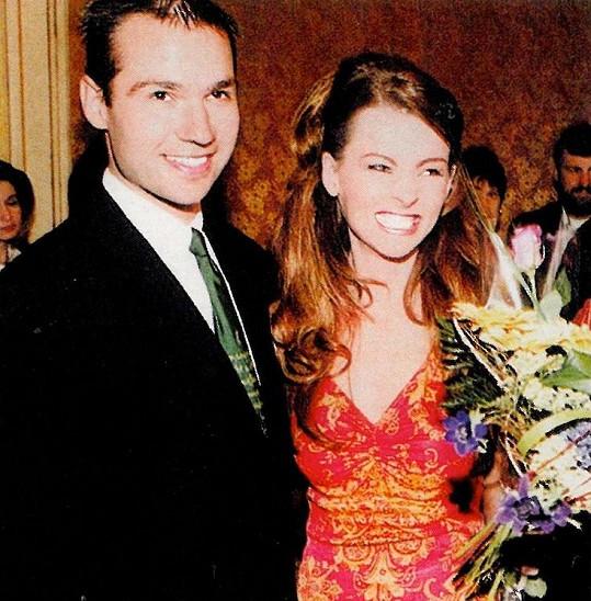 Janis Sidovský a Iveta Bartošová na archivním snímku (1999).