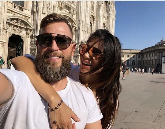 Gábina Dvořáková se vdala za partnera Petra, kterému před měsícem porodila dceru.