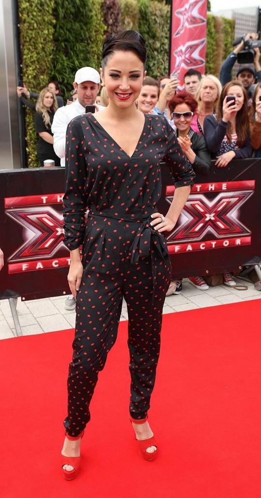 Tulisa jako porotkyně X-Factoru