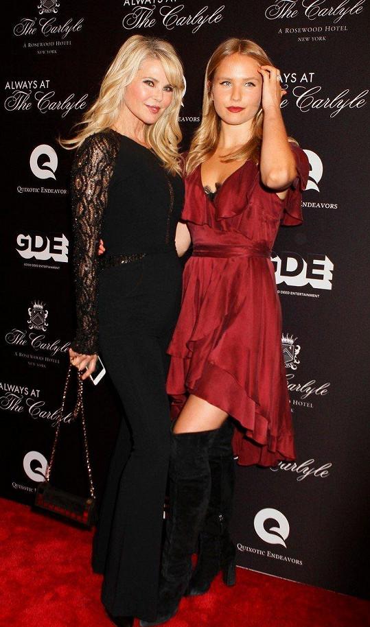 Christie s dcerou Sailor, která po ní podědila modelingové vlohy.