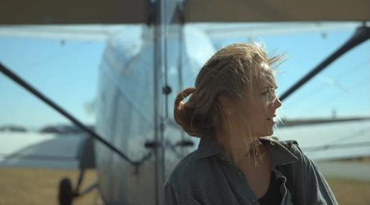 Lucie Vondráčková ve filmu Beyond Her Lens
