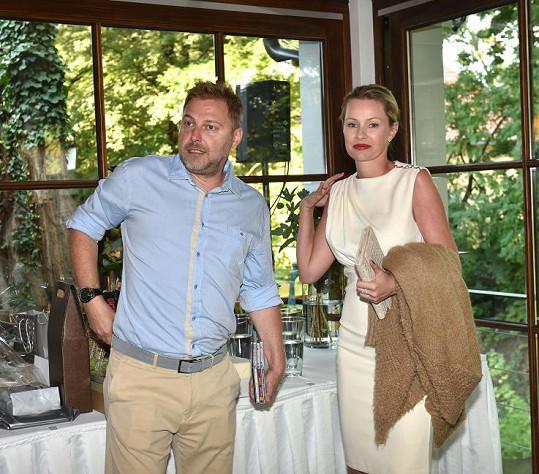 Roman Ondráček s manželkou