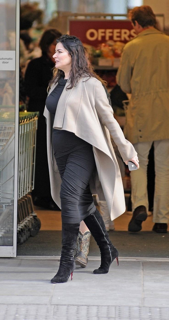 Nigella Lawson je dnes už mnohem štíhlejší.
