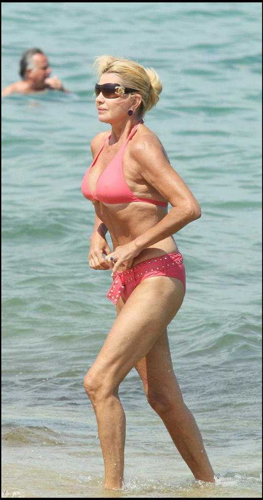 Takhle Ivana dovolenkovala v roce 2006.