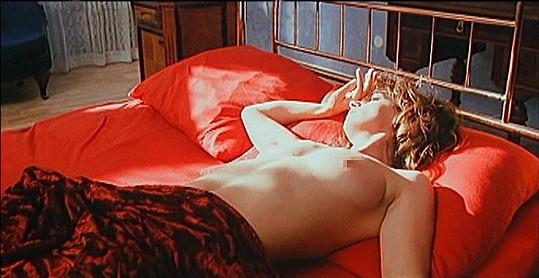 Ivana Chýlková ve filmu Vášnivý bozk