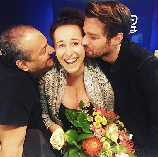Lucie roky moderovala s Leošem Marešem a Patrikem Hezuckým ranní show na Evropě 2.
