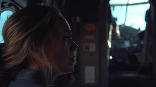 Lucie se zhostila hlavní role ve filmu Beyond Her Lens.
