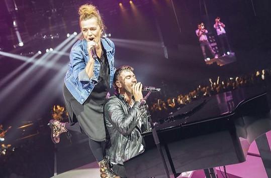 Jedním z hostů byla zpěvačka Marta Jandová.