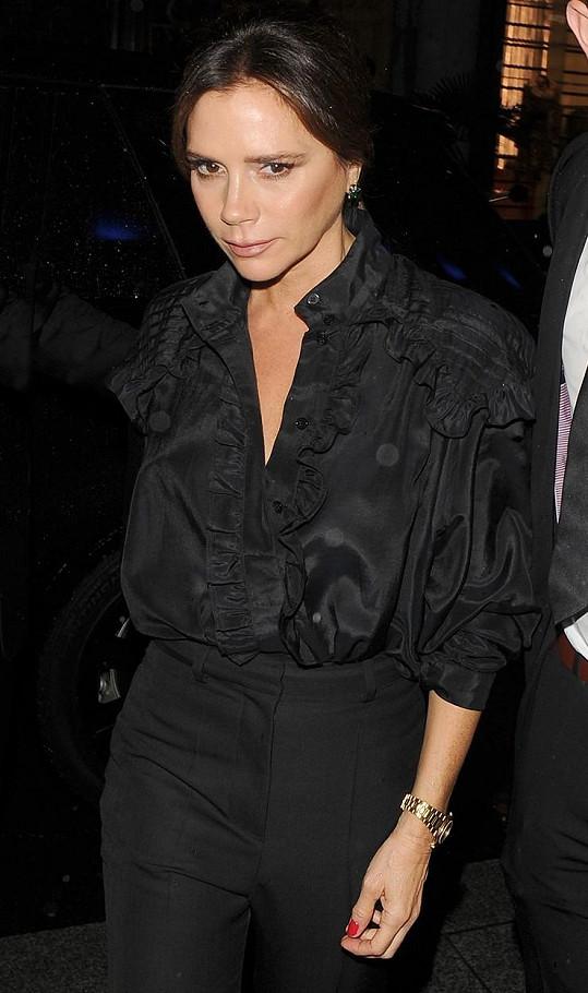 Victoria Beckham promluvila o svém zevnějšku.