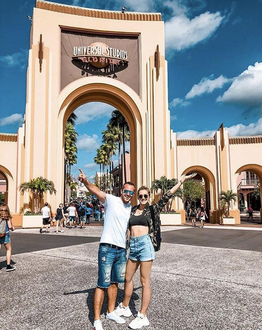 Zorka s manželem zahájili cestu v Kalifornii.