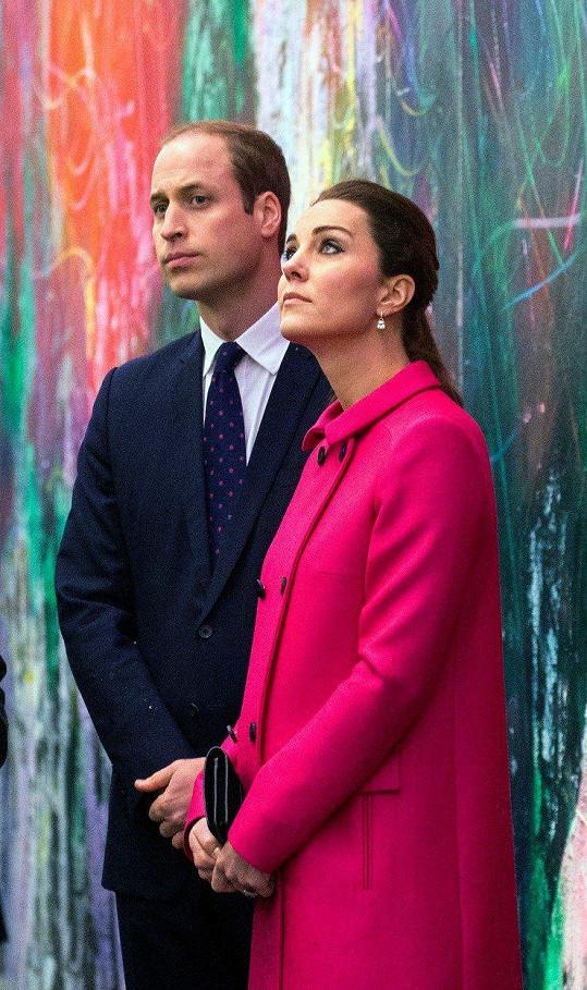 Kate a William v prosinci roku 2014