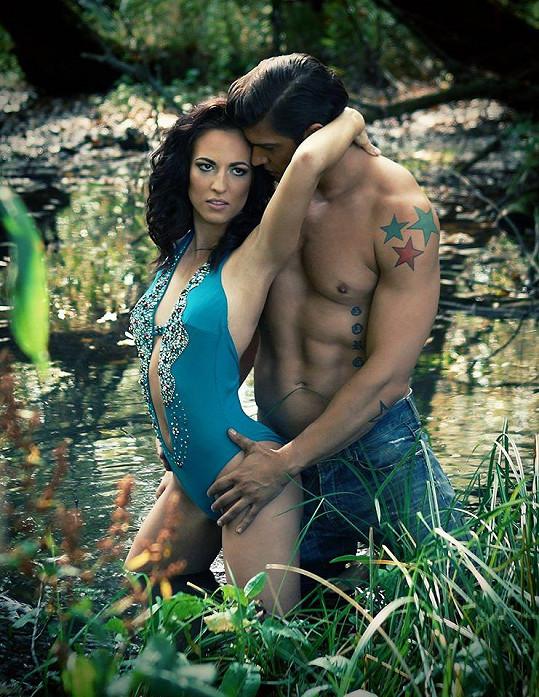 Petr Vojnar s přítelkyní Andreou