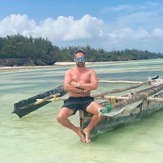 Emanuel Ridi trávil začátek ledna na Zanzibaru.