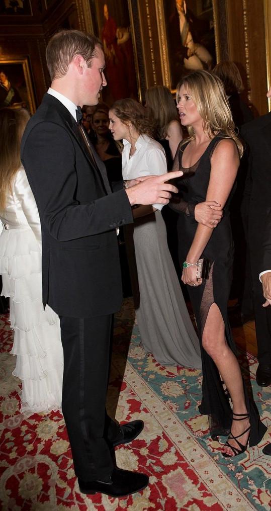 Kate Moss přijala královské pozvání na hrad ve Windsoru.