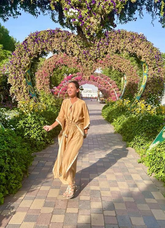 Dlouho toužila po tom udělat si výlet do pouštní Miracle Garden.