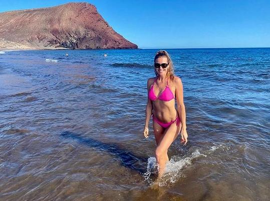 Eva Čerešňáková odjela za teplem na ostrov Tenerife.