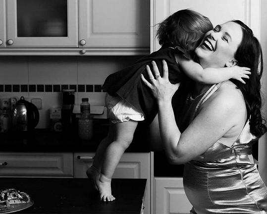 Herečka má krásnou vzpomínku na druhé těhotenství.