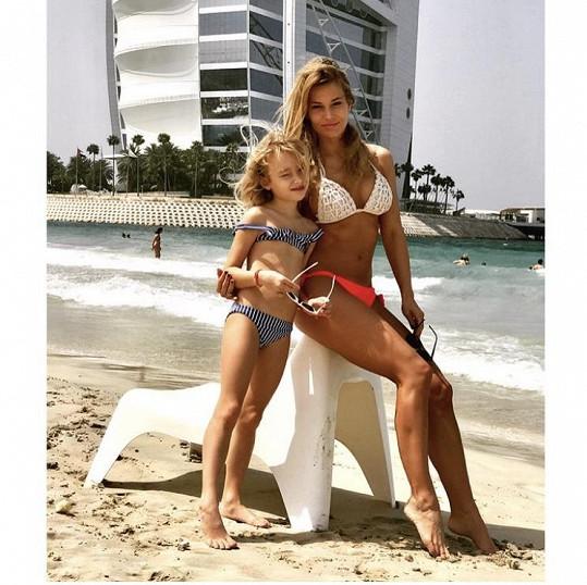 Petra s dcerou letí v červenci do Miami.